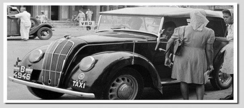 Taxi Tempo Dulu