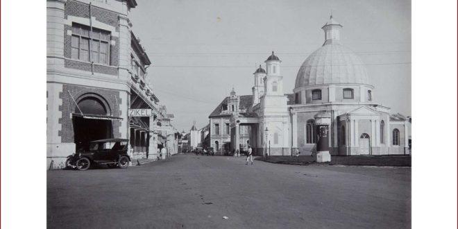 Gereja Blenduk Semarang Tempo Doeloe