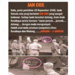 Asal Usul Kata Jan Cox dari Zaman Belanda, Benarkah?